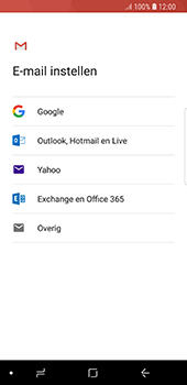 Samsung Galaxy S8 - Android Oreo - E-mail - handmatig instellen (gmail) - Stap 7