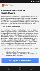 Sony Xpéria SP - Internet et connexion - Naviguer sur internet - Étape 4