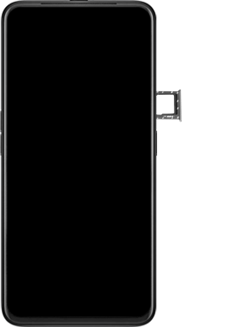 Oppo Reno 2Z - Premiers pas - Insérer la carte SIM - Étape 6