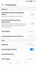 Huawei P10 - Anrufe - Rufumleitungen setzen und löschen - 5 / 9