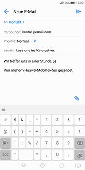 Huawei Mate 10 Pro - E-Mail - E-Mail versenden - 10 / 18