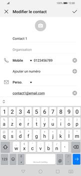 Huawei P Smart 2020 - Contact, Appels, SMS/MMS - Ajouter un contact - Étape 8