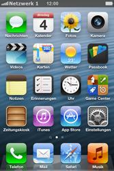 Apple iPhone 4S - Netzwerk - Manuelle Netzwerkwahl - Schritt 7