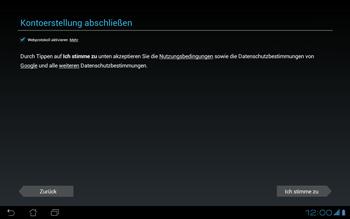 Asus Padfone - Apps - Konto anlegen und einrichten - 12 / 19
