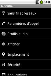 Alcatel OT-991 Smart - Internet - Configuration manuelle - Étape 4