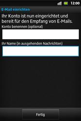 Sony Xperia Go - E-Mail - Konto einrichten - Schritt 15