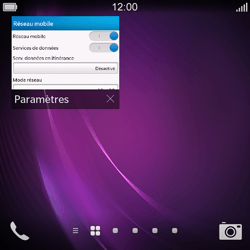 BlackBerry Q10 - Internet - configuration manuelle - Étape 13
