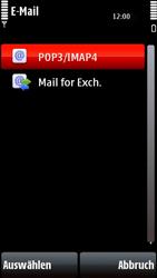 Nokia 5800 Xpress Music - E-Mail - Konto einrichten - Schritt 11