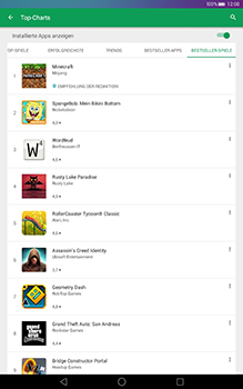 Huawei MediaPad T1 (10.0) LTE - Apps - Herunterladen - 10 / 17