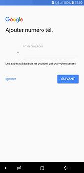 Samsung Galaxy J6 - Applications - Créer un compte - Étape 13