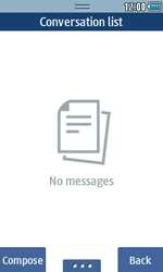 Samsung S5250 Wave 525 - Voicemail - Manual configuration - Step 4