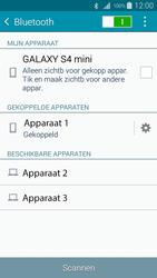 Samsung I9195i Galaxy S4 mini VE - Bluetooth - Headset, carkit verbinding - Stap 8