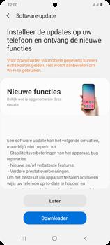 Samsung Galaxy S20 Plus 5G Dual SIM eSIM SM-G986B - Software updaten - Update installeren - Stap 7