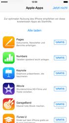 Apple iPhone 6 iOS 8 - Apps - Einrichten des App Stores - Schritt 3