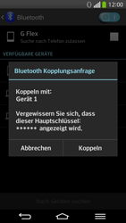 LG D955 G Flex - Bluetooth - Verbinden von Geräten - Schritt 8
