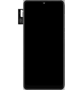 Samsung Galaxy A31 - Premiers pas - Insérer la carte SIM - Étape 6