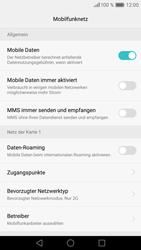 Huawei P9 Lite - Netzwerk - Netzwerkeinstellungen ändern - 1 / 1