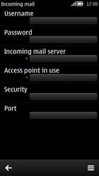 Nokia 808 PureView - E-mail - Configuration manuelle - Étape 12