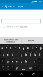 HTC One M8 - E-mail - configuration manuelle - Étape 7