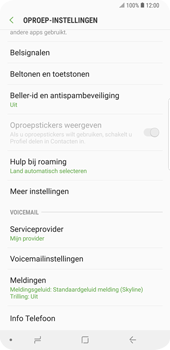 Samsung Galaxy S9 Plus (SM-G965F) - Voicemail - Handmatig instellen - Stap 6