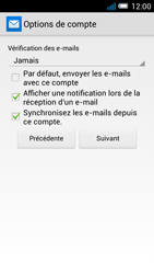 Alcatel Pop C7 - E-mail - configuration manuelle - Étape 20