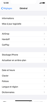 Apple iPhone X - iOS 13 - Appareil - Mises à jour - Étape 5