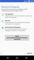 Sony Xperia XZ - Android N - E-Mail - Konto einrichten - 0 / 0