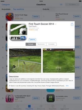 Apple iPad mini iOS 7 - Applicazioni - Configurazione del negozio applicazioni - Fase 5