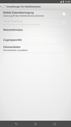 Sony Xperia Z Ultra LTE - Internet - Manuelle Konfiguration - 2 / 2