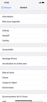 Apple iPhone XR - Aller plus loin - Mettre à jour le logiciel interne de votre mobile - Étape 5