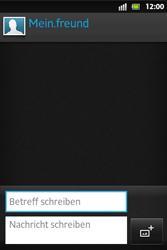 Sony Xperia Go - MMS - Erstellen und senden - 12 / 19