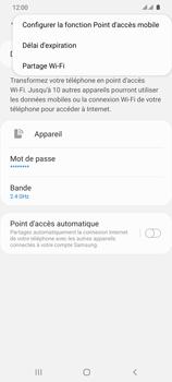 Samsung Galaxy S20 Ultra - Internet et connexion - Partager votre connexion en Wi-Fi - Étape 8