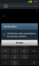 Samsung Galaxy Trend Lite - E-mail - configuration manuelle - Étape 11