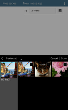Samsung T335 Galaxy Tab 4 8-0 - MMS - Sending pictures - Step 17