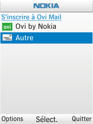 Nokia C2-01 - E-mail - Configurer l