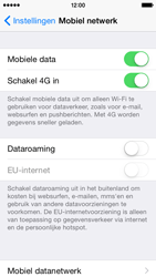 Apple iPhone 5s (iOS 8) - internet - activeer 4G Internet - stap 4