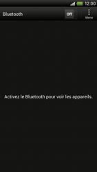 HTC S720e One X - Bluetooth - connexion Bluetooth - Étape 7