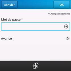BlackBerry Q10 - Wifi - configuration manuelle - Étape 7