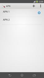 Sony Xperia Z1 Compact - MMS - Configurazione manuale - Fase 16