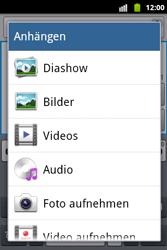 Samsung Galaxy Xcover - MMS - Erstellen und senden - 12 / 18
