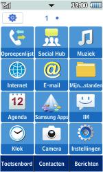 Samsung S5260 Star II - wifi - handmatig instellen - stap 3