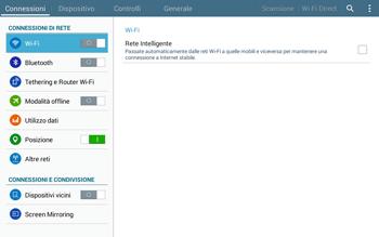 Samsung T535 Galaxy Tab 4 10.1 - WiFi - Configurazione WiFi - Fase 4