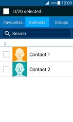Samsung J100H Galaxy J1 - MMS - Sending pictures - Step 5