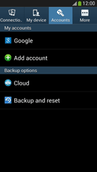 Samsung Galaxy S 4 Mini LTE - Mobile phone - Resetting to factory settings - Step 5