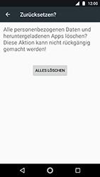 Motorola Moto G5s - Fehlerbehebung - Handy zurücksetzen - Schritt 9