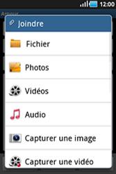 Samsung S5830 Galaxy Ace - E-mail - envoyer un e-mail - Étape 8