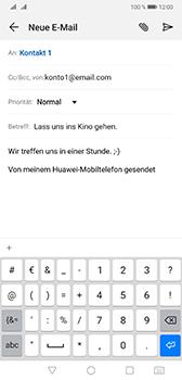Huawei Mate 20 - E-Mail - E-Mail versenden - Schritt 9