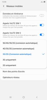 Samsung Galaxy Note20 Ultra 5G - Internet et connexion - Activer la 4G - Étape 7