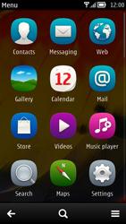 Nokia 700 - E-mail - Sending emails - Step 3
