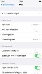 Apple iPhone 6 iOS 10 - E-Mail - Konto einrichten (outlook) - Schritt 4